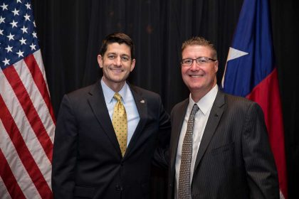 Speaker Ryan and Mark Jones
